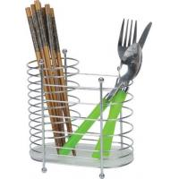 Wholesale Chrome Wire Chopsticks Rack Home Kitchenware Knife and Fork Caddy for Kitchen Room from china suppliers