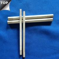 Wholesale Customized Drawing Tungsten Silver Alloy Bar / Rod High Arc Corrosion Resistance from china suppliers