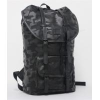 China Waterproof Hiking Backpack Sports Bag 1680D Nylon Leather Trim Transparent Camo Printing on sale