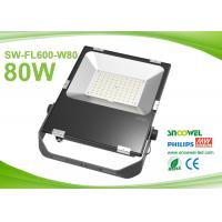 Quality 80w Outdoor Led FloodLight Fixtures  3030 SMD Meanwell Driver for sale
