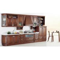 cheey solid wood kitchen cabinet set modern kitchen cabinet arc style cupboard of item 106291772. Black Bedroom Furniture Sets. Home Design Ideas
