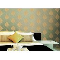 Wholesale Classical Damask Pattern PVC Vinyl Wallpaper Non pasted Wallpaper Roll from china suppliers