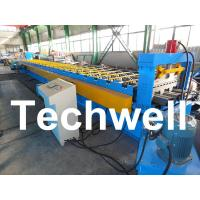 Wholesale PLC Control System Steel Deck Roll Forming Machine With 24 Forming Stations from china suppliers