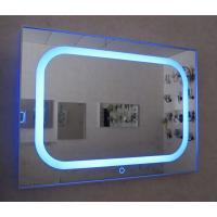 Wholesale Interior designed backlit bath mirror with TV bluetooth from china suppliers