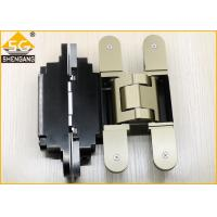 Wholesale German Metal Invisible Door Hinges Thickness 60mm Load 100 Kg Per Pair from china suppliers