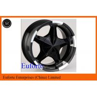 Wholesale 17inch 5 x 150 off road wheels 17 x 8 / 8J x 17 Black SUV Wheels For Toyota Tundra  Sequoia from china suppliers