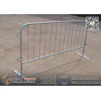 Wholesale Steel Flat Foot Crowd Control Barriers | 1.1m height | Australia and New Zealand Standard from china suppliers