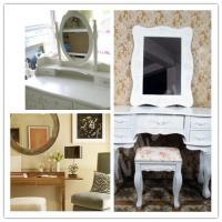 Wholesale White Oval Silver Mirror Glass from china suppliers