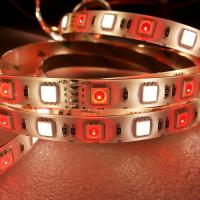 Buy cheap DC12 / 24V ip65 silicone waterproof Flexible RGBW led strip with CE & RoHS from wholesalers