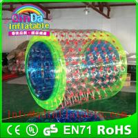 Wholesale QinDa Inflatable Aqua Roller Inflatable Pool Roller inflatable water roller water wheels from china suppliers