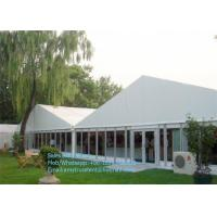 Quality Waterproof Large Outdoor Party Tents With Aluminum Frame / PVC Cover for sale