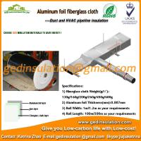 Buy cheap Aluminum foil coated fiberglass materials as duct insulation from wholesalers
