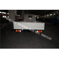 Wholesale Material Transport Electric Platform Truck 5 Tons White With Single Cab  BD-5 from china suppliers