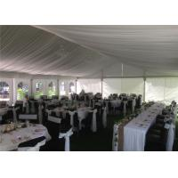Wholesale Small Aluminium Frame Tent With Liners And Decorations , Aluminum Clear Canopy Tent from china suppliers