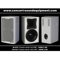 Wholesale Bass Reflex Full Range Nightclub Sound Equipment 96dB 97dB Black / White Finish from china suppliers