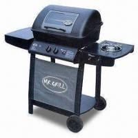 Wholesale Easy-to-operate Gas Barbecue Grill with 2 Burners and Porcelain Enamel Wire Grill from china suppliers