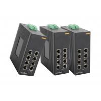 Wholesale 8 * 1000 Base TX Managed gigabit ethernet switch Din rail industrial media convert from china suppliers