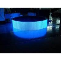 Wholesale 960 * 960 1R1G1B full color Curved LED display  Outdoor DIP P10 1/4 scan 7500 Nits Brightness from china suppliers