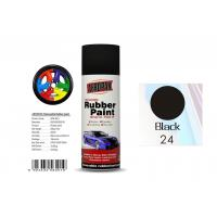 Wholesale Head Light Black Color Rubber Coat Spray Paint For Wheel Brushing APK-8201-24 from china suppliers
