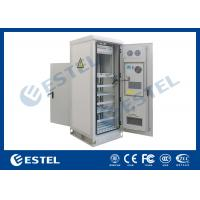 Wholesale Temperature Control Custom Made Antitheft Outdoor Telecom Cabinet With Front Door And Back Door from china suppliers