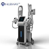Buy cheap Newest loss Weight  4 handles coolshaping cryolipolysis fat frezzing machine beauty machine from wholesalers