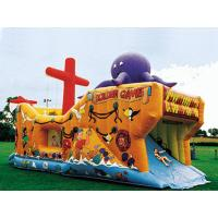 Wholesale Inflatable Ship Playground In Ship Design With Animal Cartoon Pictures from china suppliers