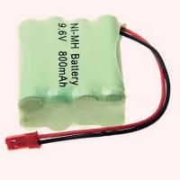 Wholesale nimh aaa 9.6v 800mah rechargeable battery pack from china suppliers