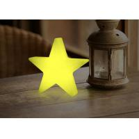 Wholesale Star Shape Wood Decorative Battery Operated Desk Lamp / Rechargeable Table Lamp from china suppliers