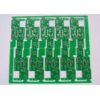 Wholesale Stamp Hole Connected 1 Layer PCB ROHS HASL Lead Free Finish Green Solder Mask from china suppliers