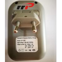 Quality AA AAA 9V LCD Battery Charger NIMH NICD batteries Standard Charger Plug in for sale