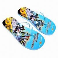 Wholesale Promotional Flip-flops, Measures 39 to 44#, Various Colors are Available from china suppliers