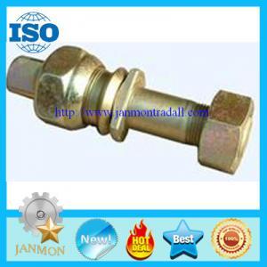 Wholesale Zinc galvanized hub bolt with nut,Zinc plated wheel bolt with nut,Auto bolt&nut,Auto Hub bolt&nut,Auto Wheel bolt&nut from china suppliers