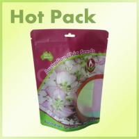 Wholesale 500g Chia Seeds Plastic Stand Up Pouches With Window Laminated Foil from china suppliers