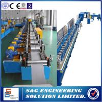 Quality High Pressure 77mm Metal Roll Former Machine , 36 Rows Rolling Shutter Strip Making Machine for sale