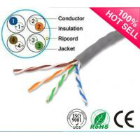 Wholesale 1000ft Cat5e Cable  UTP Solid 0.51mm BC/CCA 24AWG Twisted Pair Wire from china suppliers