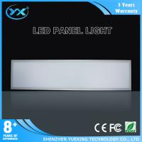 Wholesale Ultra Thin Remote Control Square LED Panel Lighting 300*1200mm 40w daylight from china suppliers