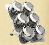 Wholesale Magnetic Spice Rack (CL1Z-J0604-6I) from china suppliers