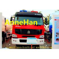 Wholesale HOWO 6x4 12m3 371HP Fire Fighting Truck Water Tank With Pumps Ladders EUROIII from china suppliers