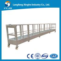 Wholesale hot galvanized suspended platform / suspended access platform / rope suspended platform from china suppliers