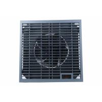 Quality Air Conditioning Black Perforated Raised Floor Metal with Intelligent EC Draught Fan for sale