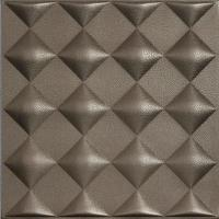 Wholesale Grand Hotel Decoration 3D Faux Leather Ceiling Tiles Smoke Proof from china suppliers