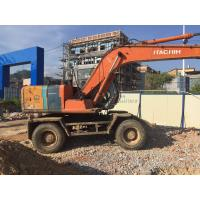 Buy cheap High quality used wheeled excavator Hitachi EX120 for sale from wholesalers
