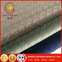 Wholesale High Quality 100% polyester Houndstooth fabric polyester knit fabric from china suppliers