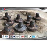Rough Machined Forged Steel Flanges Open Die Forging Rustproof