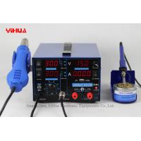 Wholesale YH-853D 3A 4 LED with USB new type 3 in 1 soldering station with power supply from china suppliers