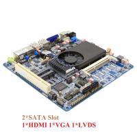 Wholesale 2 SATA HDMI VGA LVDS Mini Dual Lan ITX Motherboard Support Double Display from china suppliers