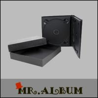 Quality Double CD case with paper box for sale