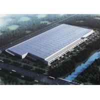 Buy cheap Large Span Industrial Structure Prefabricated Metal Buildings For Workshop And Warehouse from wholesalers