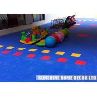 Wholesale Commercial Playground Playground Safety Surfacing Tiles Creative For Kids from china suppliers