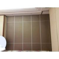 Wholesale Finished Melamine Decorative Wooden Partition Wall / Folding Sliding Doors from china suppliers